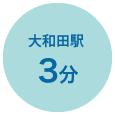 大和田駅3分